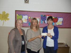 Cindy's Fund receives a donation.